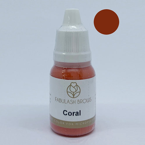Fabulash Brows Pigment 10ml_Coral