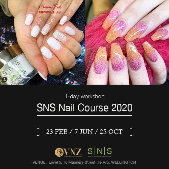 SNS nail course