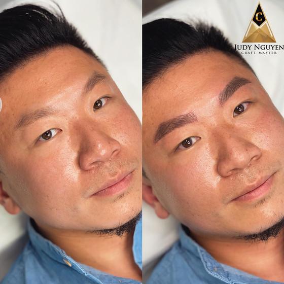 Eyebrow Microblading For Men