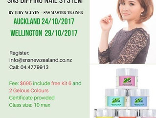 SNS Nails Training Workshop October 2017