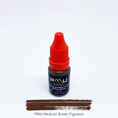 PMU Medium Brown Pigment 10ml