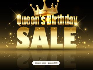 2021 Queen's Birthday Sale