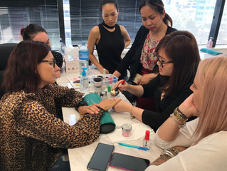 SNS Nail Training With The Best Industrial Nail Trainer