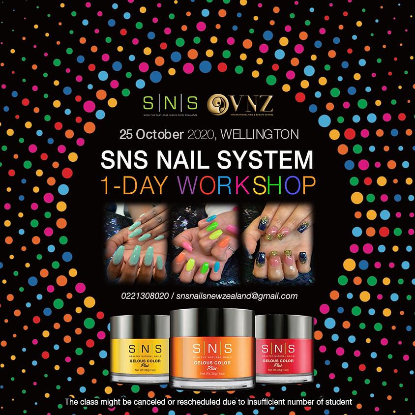 SNS Nail Training Workshop - Wellington 9 SEP 2020