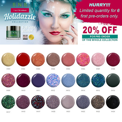 Holidazzle Whole Collection size 1oz