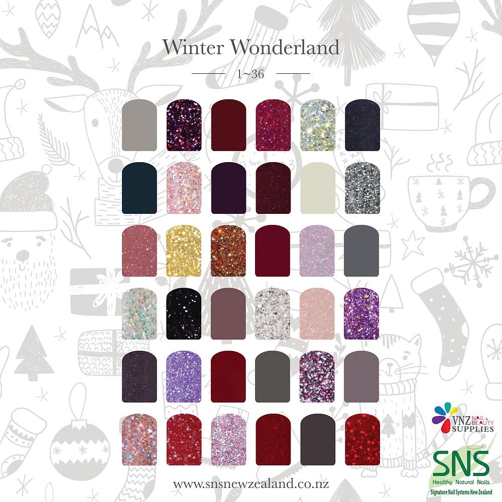 Sns winter wonderland collection ww