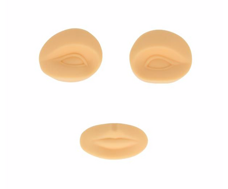 Phicontour Disp. Eyes & Lips For Latex Head