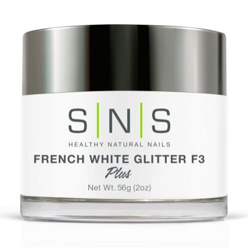 SNS White Glitter F3