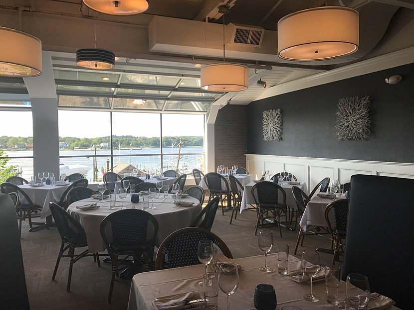 Dining Room Overlooking The Water