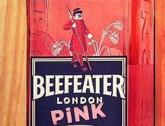 Beefeater gin (pink)