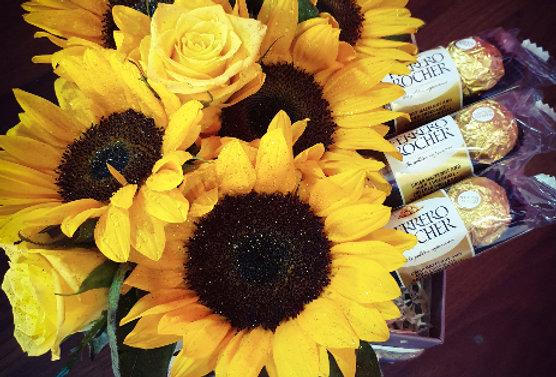 Sunflower ferrero