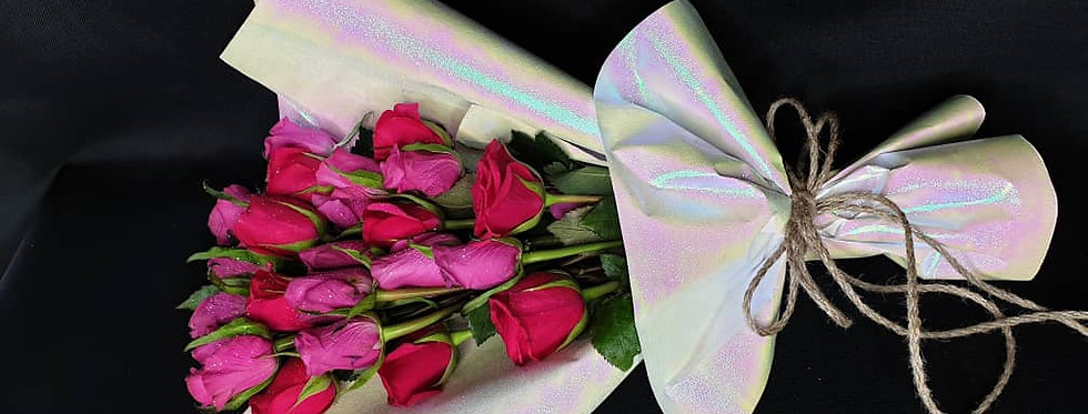 2 Colour rose