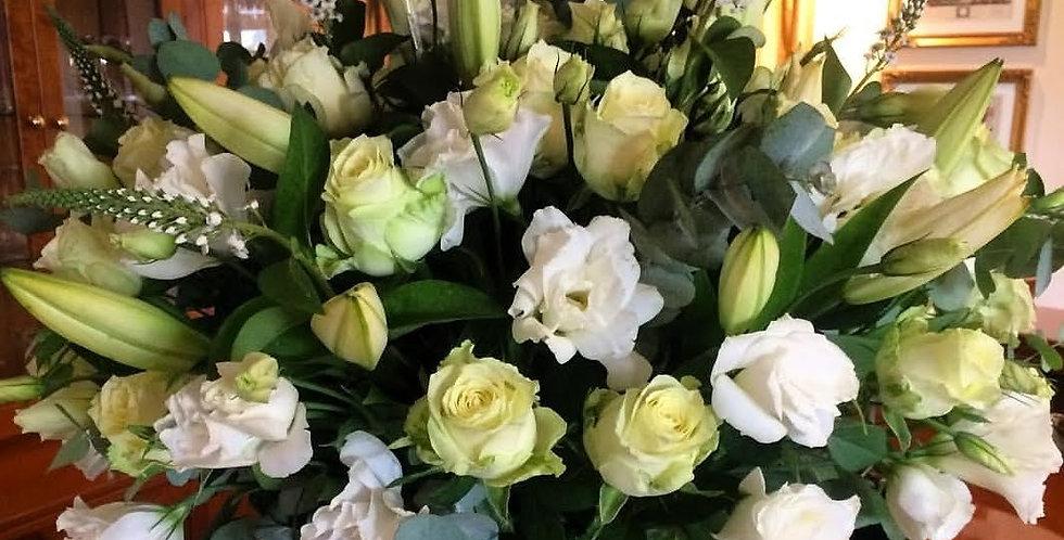 St Joseph's & roses