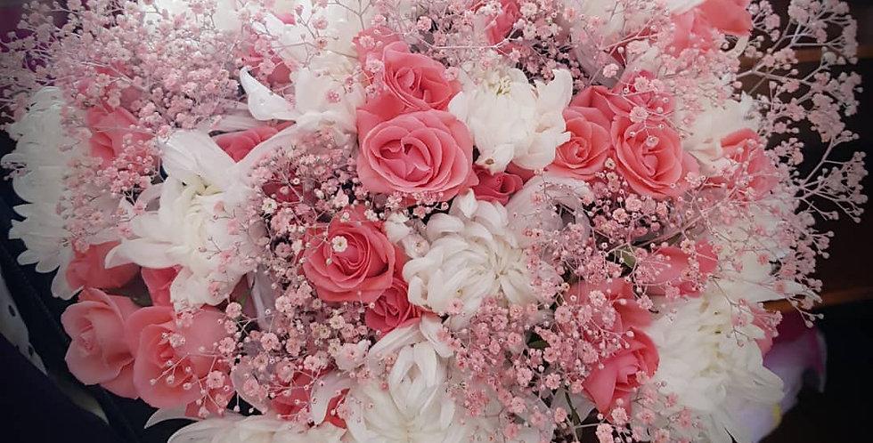 Pink & White Blush