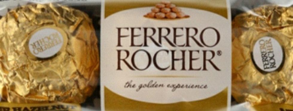 Ferrero roche 3s