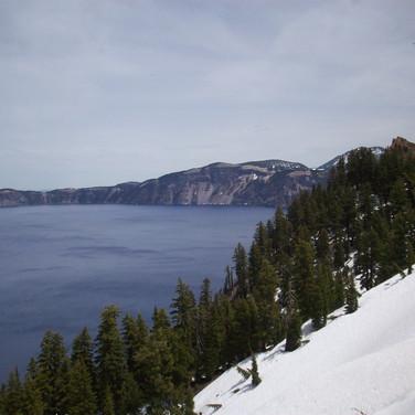 Crater Lake - Winter