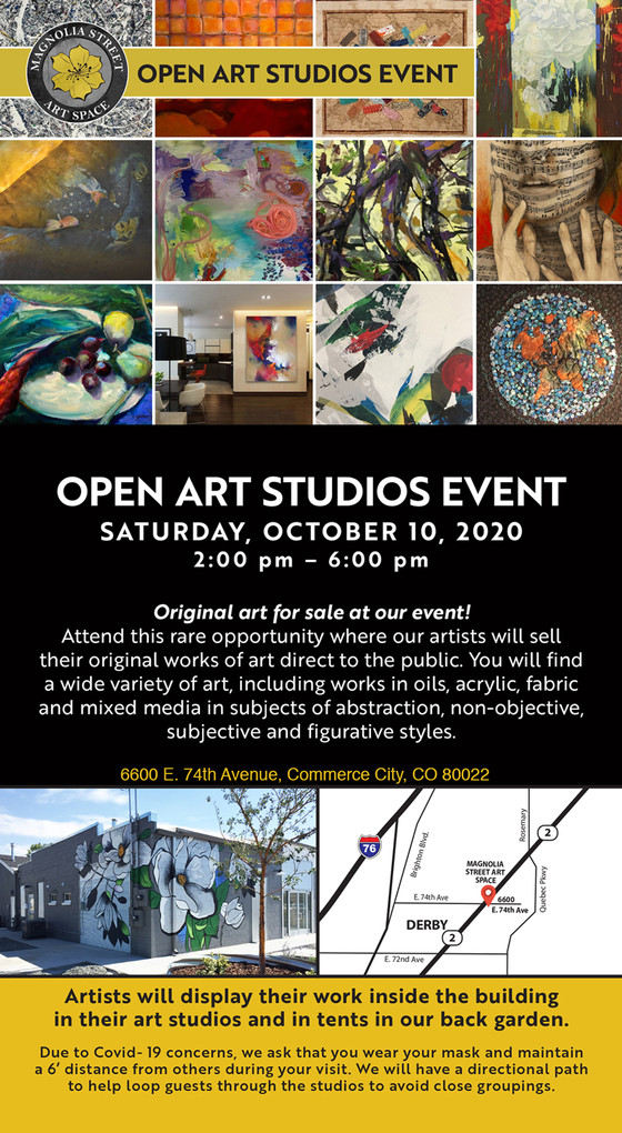 Open Studio Event | Time for some FUN!