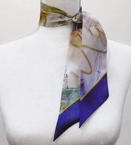 La Traviata Twilly Silk Scarf