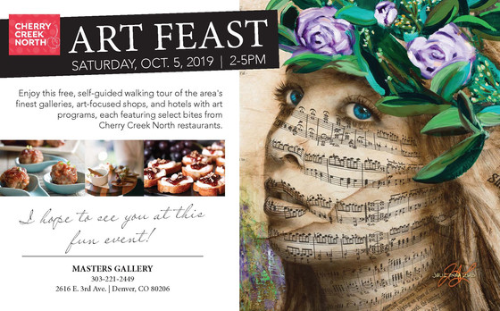 Meet me at the Cherry Creek Art Feast