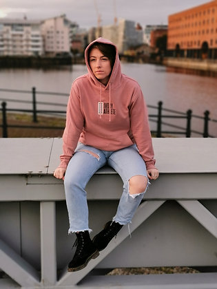 Dusty Pink SnugFit Hoodie - Limited Edition