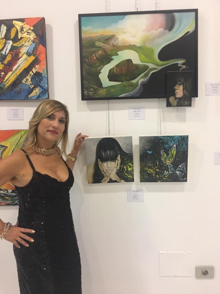 Le mie opere con la curatrice e artista Maria Zimari