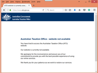 ATO problems still not fixed after 12 days