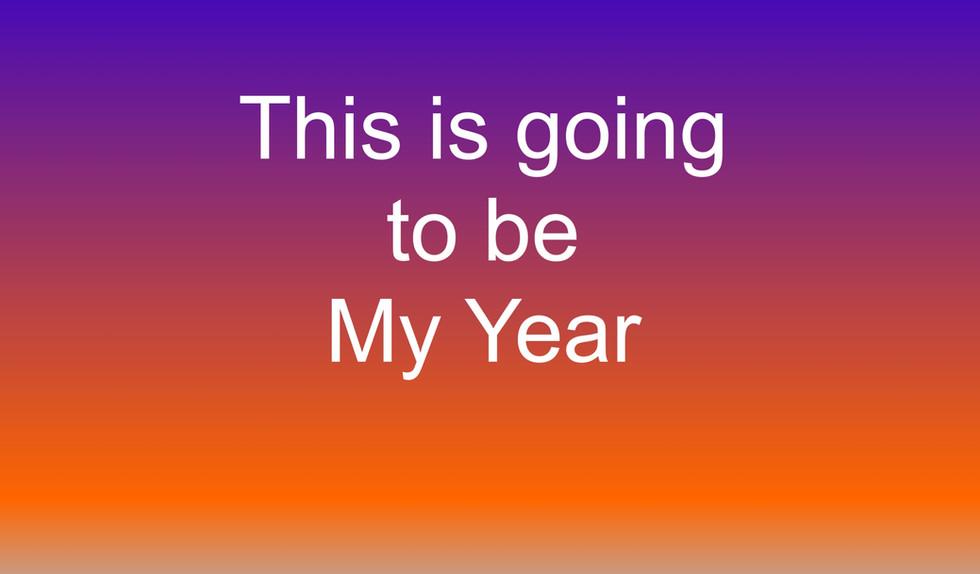 השנה שלי
