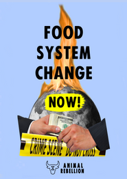 Food System Change Now Poster