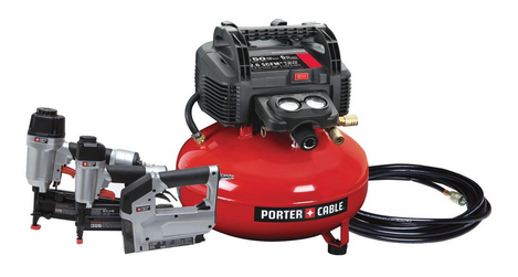 Porter-Cable Compressor Nailer Combo Kit