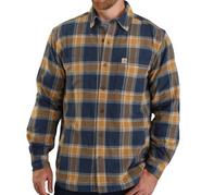 CARHARTT Fleece-lined plaid flannel.png