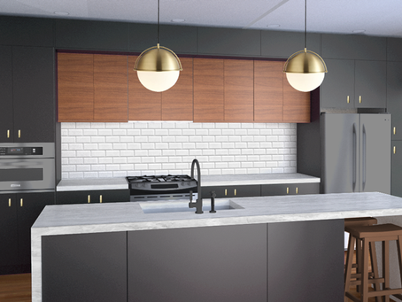 Our Kitchen Design!