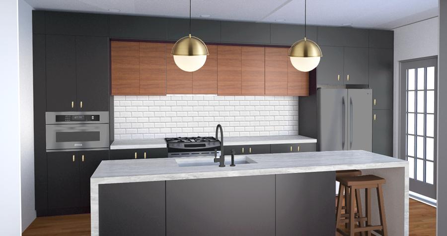 Our Kitchen Design!