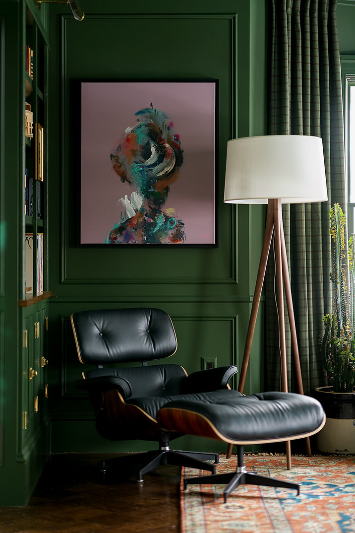 Green Parlor Living Room