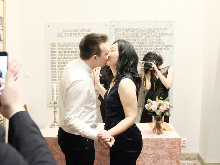Dagen när jag gifte mig…/The day that I got married…/我结婚的那一天