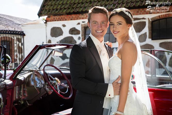 Bröllopstyling med Miranda och Kim