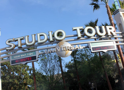 Universal Hollywood Studio Tour Guide