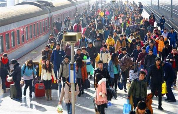 จีนประกาศ ยอดเดินทางในช่วงตรุษจีนเกือบ 3,000 ล้านเที่ยว