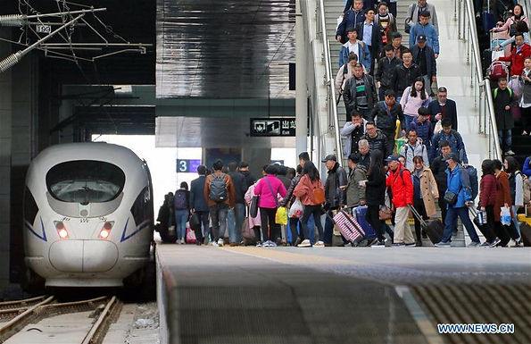 รถไฟสายจีน-ยุโรป พุ่งทะยานในช่วงไตรมาสแรกของปี 2561