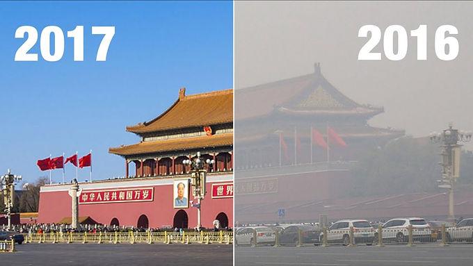 จีนแก้ปัญหาฝุ่นควันในอากาศที่ปักกิ่งได้อย่างไร