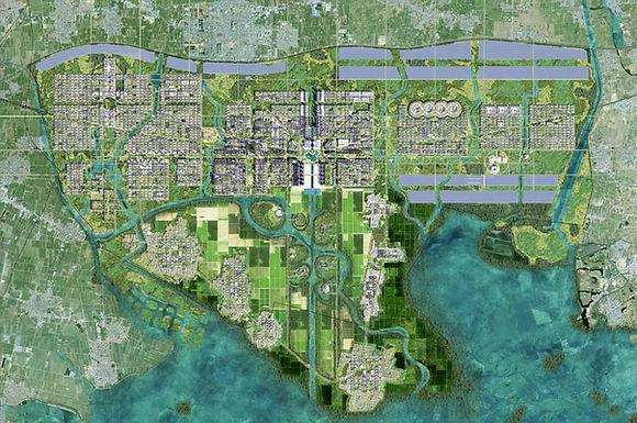 จีนประกาศสร้างเมืองใหม่ Xiongan เป็นเมืองสีเขียวเพื่ออนาคต