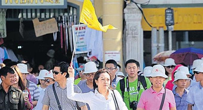 นักท่องเที่ยวจากจีนเตรียมทะลักในช่วงสงกรานต์