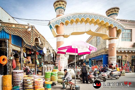 เส้นทางสายไหมในยุคปัจจุบัน ชมตลาดข้างถนนใน Kashgar