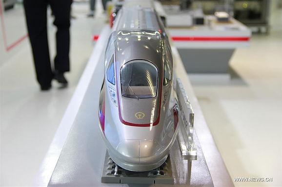 Model รถไฟความเร็วสูงไทย-จีน เปิดตัวในงาน Rail Asia Expo