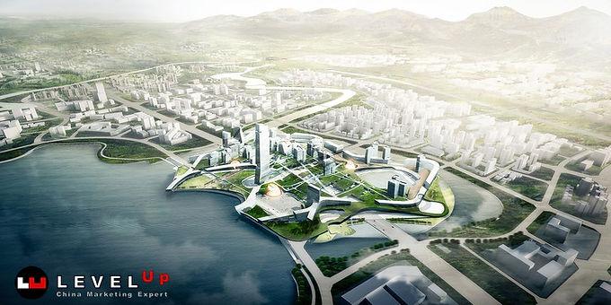 Unicorn Island แห่งแรกของจีน เริ่มสร้างในนครเฉิงตู