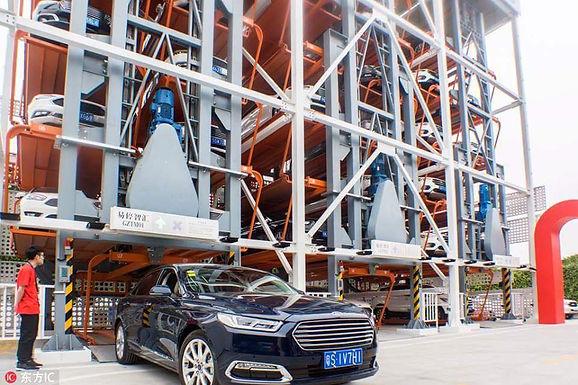 Alibaba รุกคืบ เปิดตัวตู้จำหน่ายรถยนต์อัตโนมัติแห่งแรกของจีน