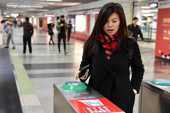 ลงรถไฟใต้ดินที่เซี่ยงไฮ้ เปิดให้บริการสแกน QR Code ผ่านมือถือ