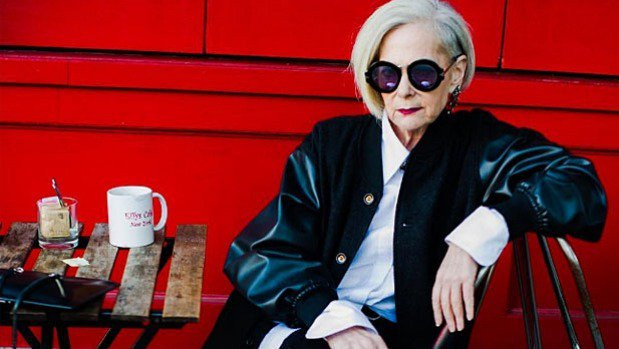 This 64-Year-Old Fashion Icon Has A Message About Aging