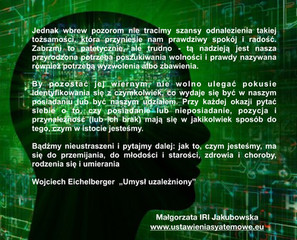 """""""Umysł uzależniony"""" Wojciech Eichelberger"""