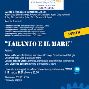 """Interclub: """"Taranto e il mare"""""""