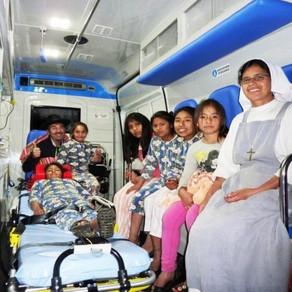 """Caminetto Rotariano - """"Un'ambulanza per Abancay"""""""